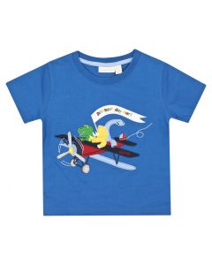 Boys Dinosaur Day Out Appliqué Tee