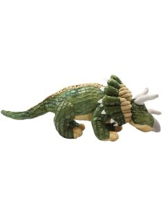 Textured Plush Triceratops